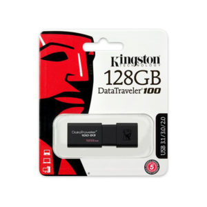 Pendrive Kingstom 128gb